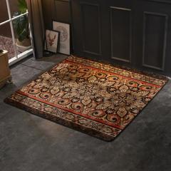 2018新款法兰绒复古简约地毯 150*190cm 金色海岸