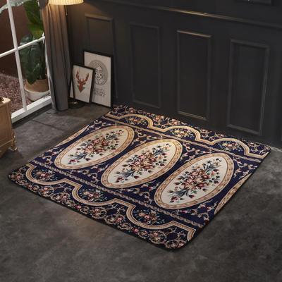 2018新款法兰绒复古简约地毯 150*190cm 锦瑟