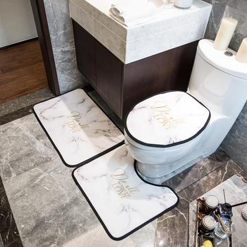 2019新款网销款卫浴三件套地垫