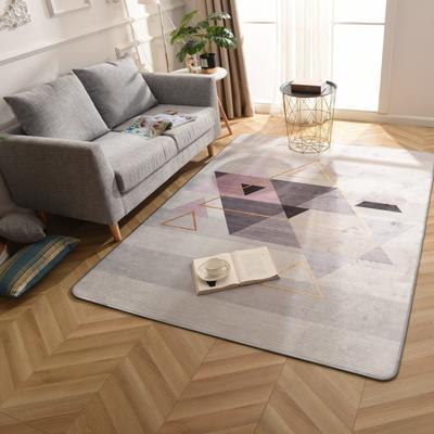 2019新款北欧印象风格硬质地毯 150*200 北欧印象