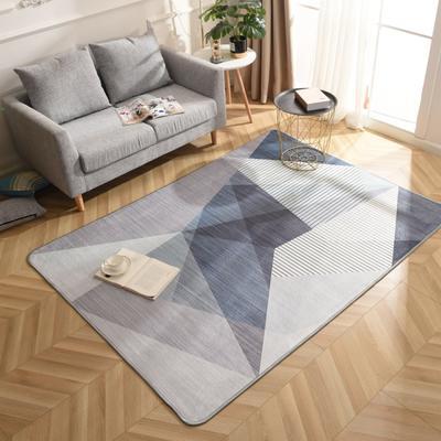 2019新款北欧印象风格硬质地毯 150*200 比索