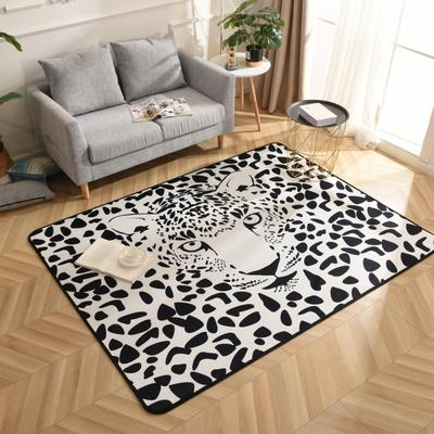 2019新款北欧印象风格硬质地毯 150*200 美洲豹