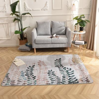 2019新款北欧印象风格硬质地毯 150*200 清风