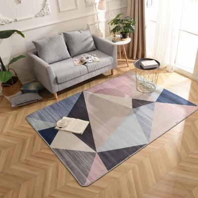 2019新款北欧印象风格硬质地毯 150*200 印象彩