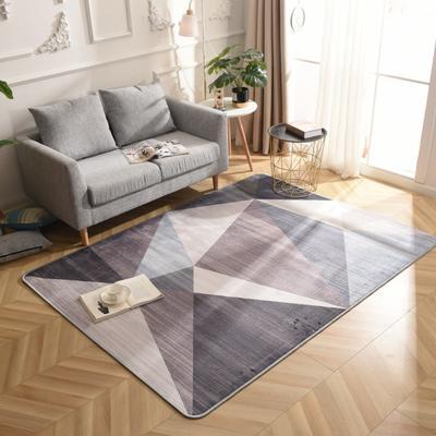 2019新款北欧印象风格硬质地毯 150*200 印象灰