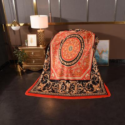 2020新款锦狐绒奢华毯 150cmx150cm毯子 贵族
