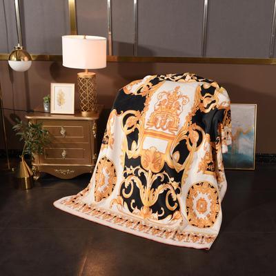 2020新款锦狐绒奢华毯 150cmx150cm毯子 丘比特