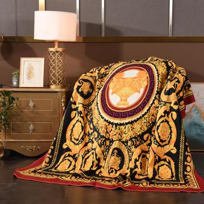 2020新款锦狐绒奢华毯 150cmx150cm毯子 圣杯