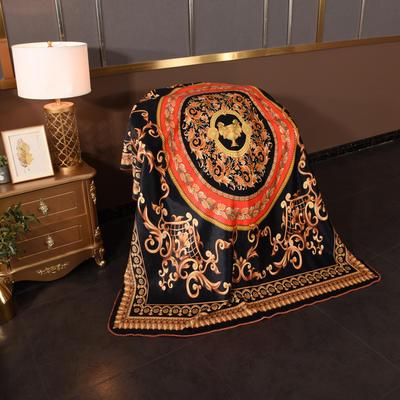 2020新款锦狐绒奢华毯 150cmx150cm毯子 圣杯2