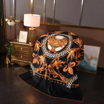 2020新款锦狐绒奢华毯 150cmx150cm毯子 圣杯4