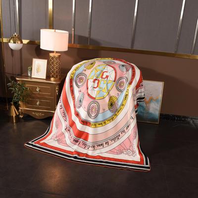 2020新款锦狐绒奢华毯 150cmx150cm毯子 指南者