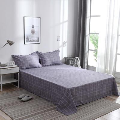 2019新品-斜纹活性磨毛单床单 植物羊绒澳棉化纤磨毛床单 1.2床:160cmx230cm 魅力约定