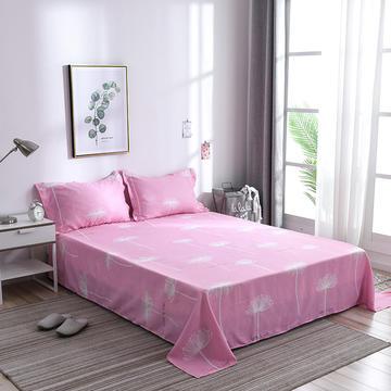 2019新品-斜纹活性磨毛单床单植物羊绒澳棉磨毛床单暖阳棉