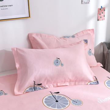 2019新品-斜纹活性磨毛单枕套 植物羊绒澳棉磨毛枕套暖阳棉