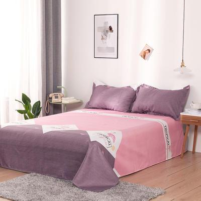 澳棉磨毛单件床单加厚植物羊绒贡棉暖阳棉床单接外贸单 200cmx230cm 乐可可
