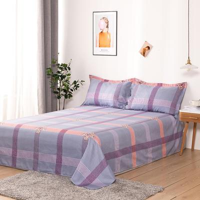 澳棉磨毛单件床单加厚植物羊绒贡棉暖阳棉床单接外贸单 200cmx230cm 曼克