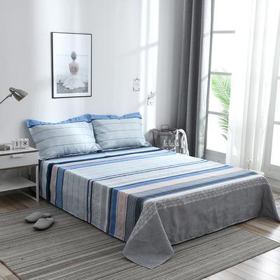 澳棉磨毛单件床单加厚植物羊绒贡棉暖阳棉床单接外贸单 200cmx230cm 欧尚生活