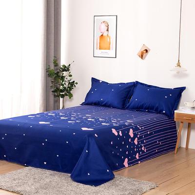 澳棉磨毛单件床单加厚植物羊绒贡棉暖阳棉床单接外贸单 200cmx230cm 心灯