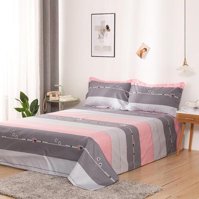 澳棉磨毛单件床单加厚植物羊绒贡棉暖阳棉床单接外贸单 200cmx230cm 熙和