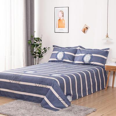 澳棉磨毛单件床单加厚植物羊绒贡棉暖阳棉床单接外贸单 200cmx230cm 奇异妙想