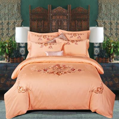 提花长绒棉四件套系列、提花四件套、长绒棉 标准(1.5m-1.8m床) 律动芳华