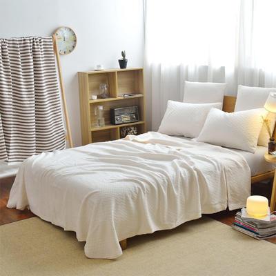 全棉针织床盖夏被 枕套 45*75cm /对 番木色-papayawhip