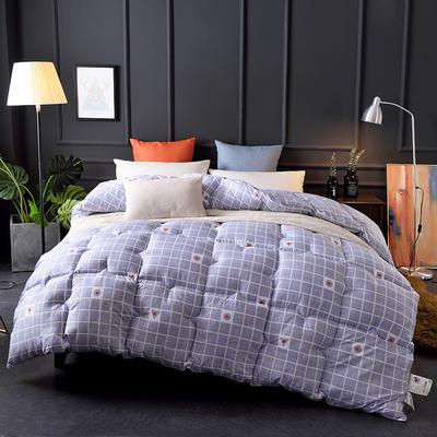 2018新款-印花羽丝绒被子被芯  全尺寸 多规格冬被 春秋被 150*210cm/3斤 律动