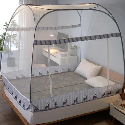 大顶免安装蚊帐新款 150*200 麋鹿森林