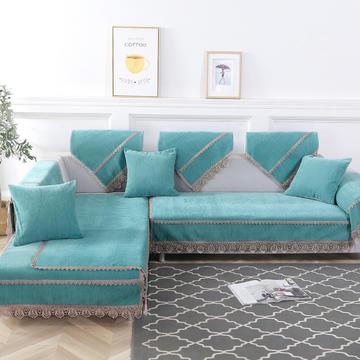 2019新款纯色沙发垫