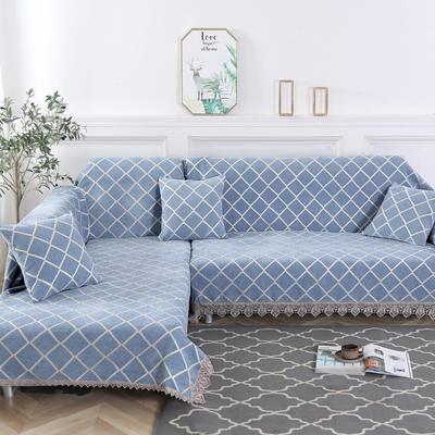 2019新款欧式简约现代沙发巾 180*150cm 素菲2
