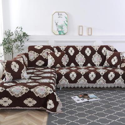2019新款欧式简约现代沙发巾 180*150cm 一世情缘