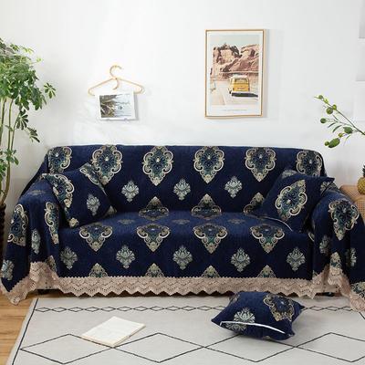 2020新款雪尼尔沙发巾花型2 180*150cm 欧式花纹