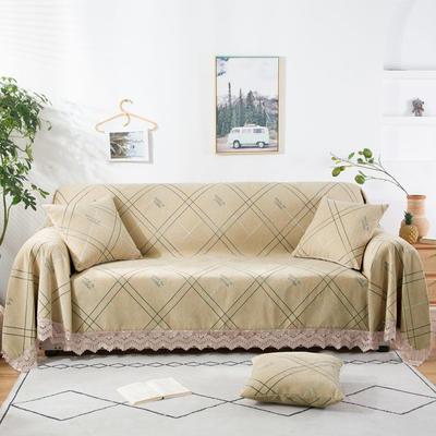 2020新款雪尼尔沙发巾花型2 180*150cm 格调