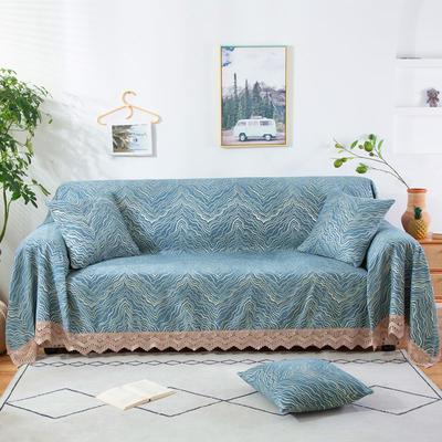 2020新款雪尼尔沙发巾花型2 180*150cm 水波纹