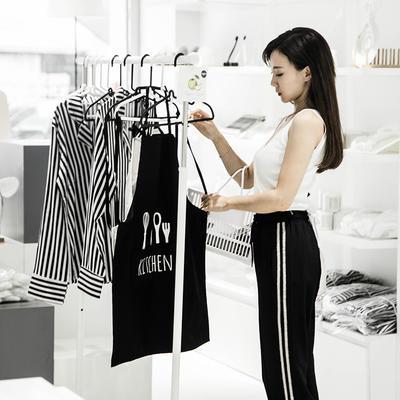 全棉围裙 71.5*58cm (黑)