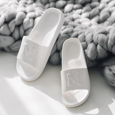 morning    拖鞋(黑  白) 42-43码 白色