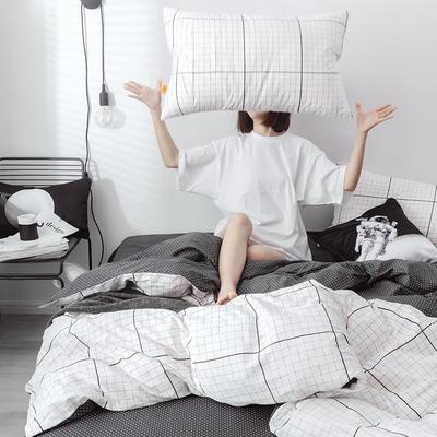 2019新品-星球系列全棉四件套 1.2m 床单款 空白