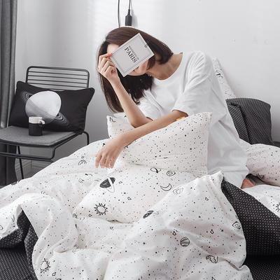 2019新品-星球系列全棉四件套 1.2m 床单款 星空1