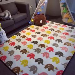 地毯地垫 (定制款) 45cm*75cm 门垫 小飞象