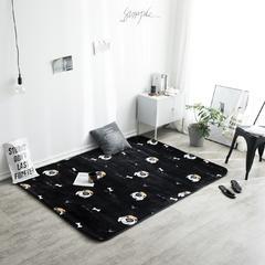 地毯地垫 (定制款) 95cm*95cm  小方垫 呆萌狗  可定制