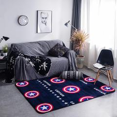 地毯地垫 (定制款) 45cm*75cm 门垫 美国队长可定制