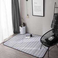 地毯地垫 (定制款) 150cm*190cm茶几垫 小清新条纹-可定制