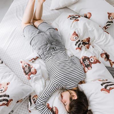 【总】oneday 纯棉四件套全棉床上用品 1.2m(4英尺)床 游乐场