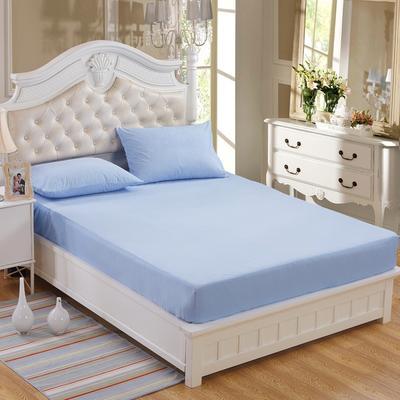专利防水床笠 床护垫 婴儿隔尿垫 姨妈垫 1.2*2米 蓝色