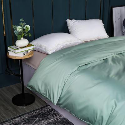 2021新款100支长绒棉纯色系列(单被套) 150x200cm 繁星蓝