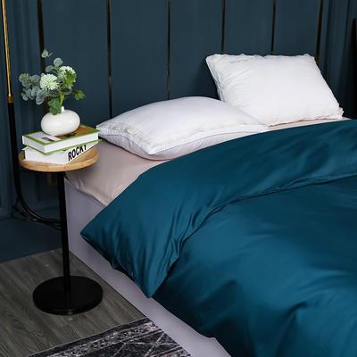 2021新款100支长绒棉纯色系列(单被套) 150x200cm 星耀蓝
