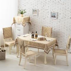 2017经典款棉麻餐桌布套装餐椅垫桌旗盘垫桌布台布茶几布布艺 90*90cm 暗香