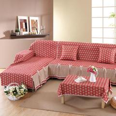 欧式夹棉沙发巾全盖沙发防灰尘沙发头盖布沙发靠背巾沙发套沙发罩 50*50cm同款抱枕套 洛丽丝