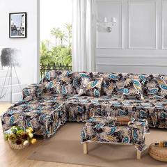 欧式夹棉沙发巾全盖沙发防灰尘沙发头盖布沙发靠背巾沙发套沙发罩 50*50cm同款抱枕套 漫漫飞舞