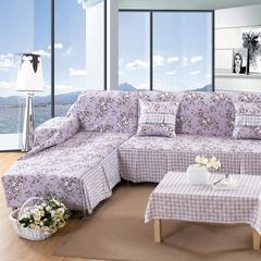 欧式夹棉沙发巾全盖沙发防灰尘沙发头盖布沙发靠背巾沙发套沙发罩 50*50cm同款抱枕套 思韵